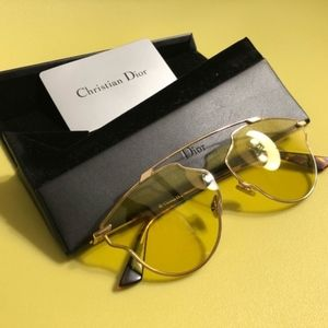 Dior I Yellow So Real Pop Sunglasses